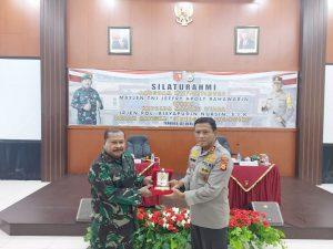 Pejabat Pangdam XVI/Pattimura Baru, Bersilaturahmi Ke Kapolda Maluku Utara