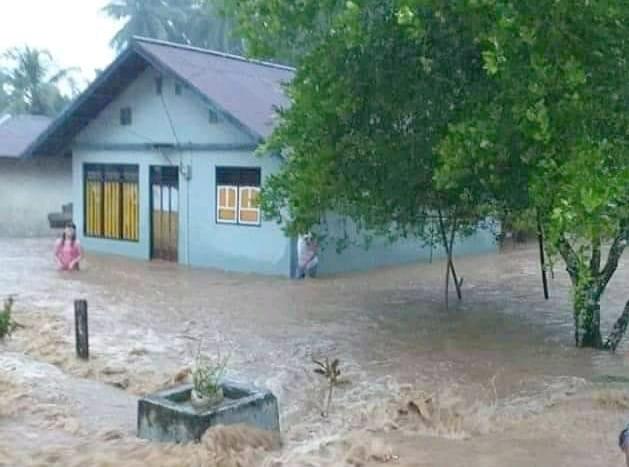 Banjir Sering Landa Desa Pumadada, Warga Minta Pemda Halbar Cepat Beri Penanganan