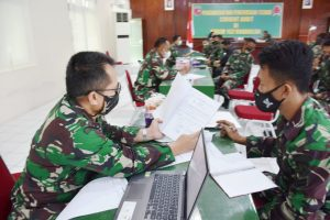 Current Audit Itjenad Datangi Korem 152/Baabullah Untuk Lakukan Pengawasan