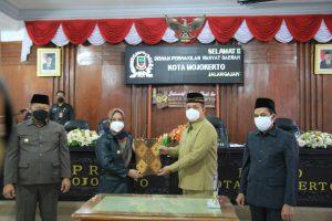 DPRD Kota Mojokerto Tetapkan Perubahan KUA & PPAS Tahun 2021