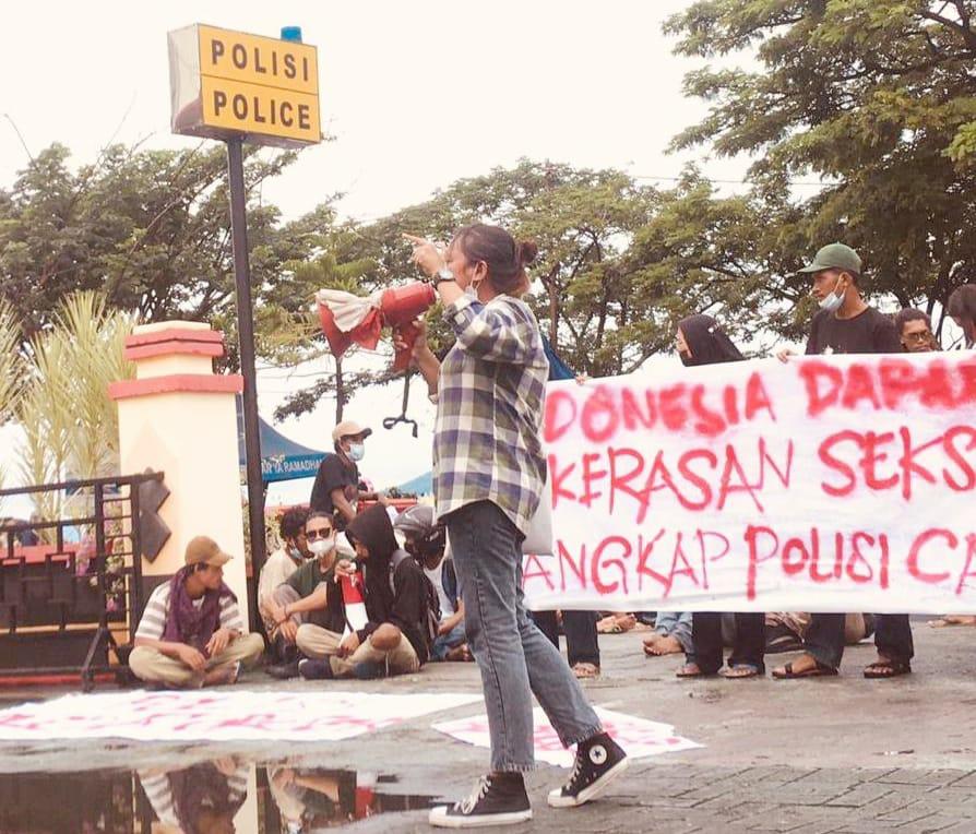 FSKKS Teriakan Indonesia Darurat Kekerasan Seksual, Setelah Dua Kasus Pemerkosaan Yang Di Lakukan Oknum Polisi Malut