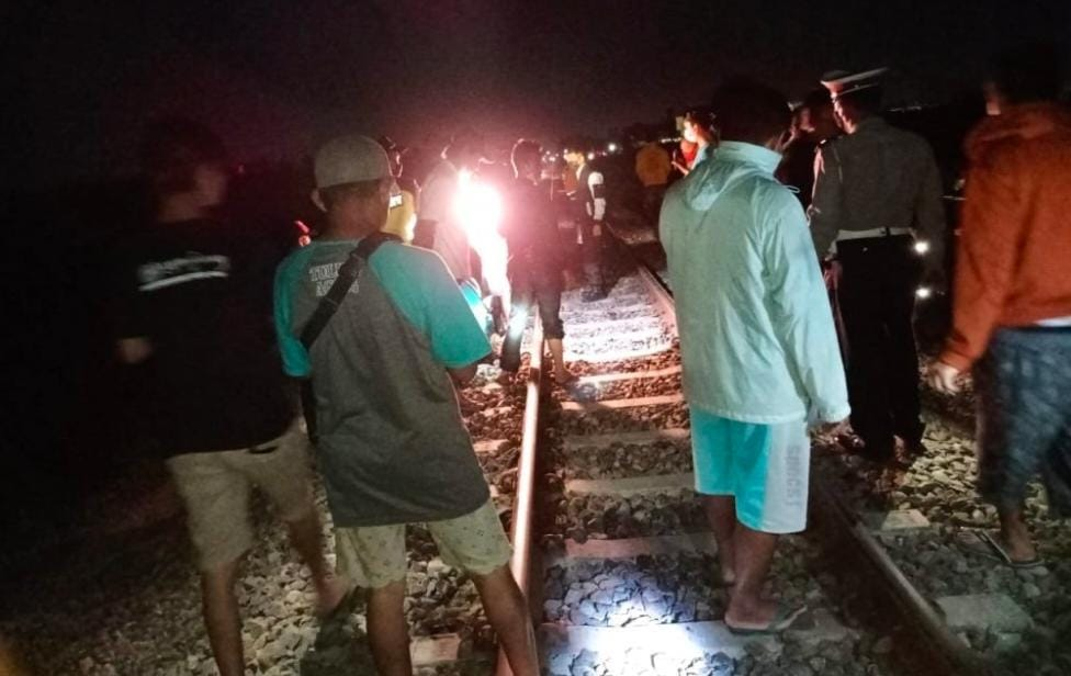 Ditabrak Kereta Api Tubuh Pria Ini Tubuhnya Berserakan