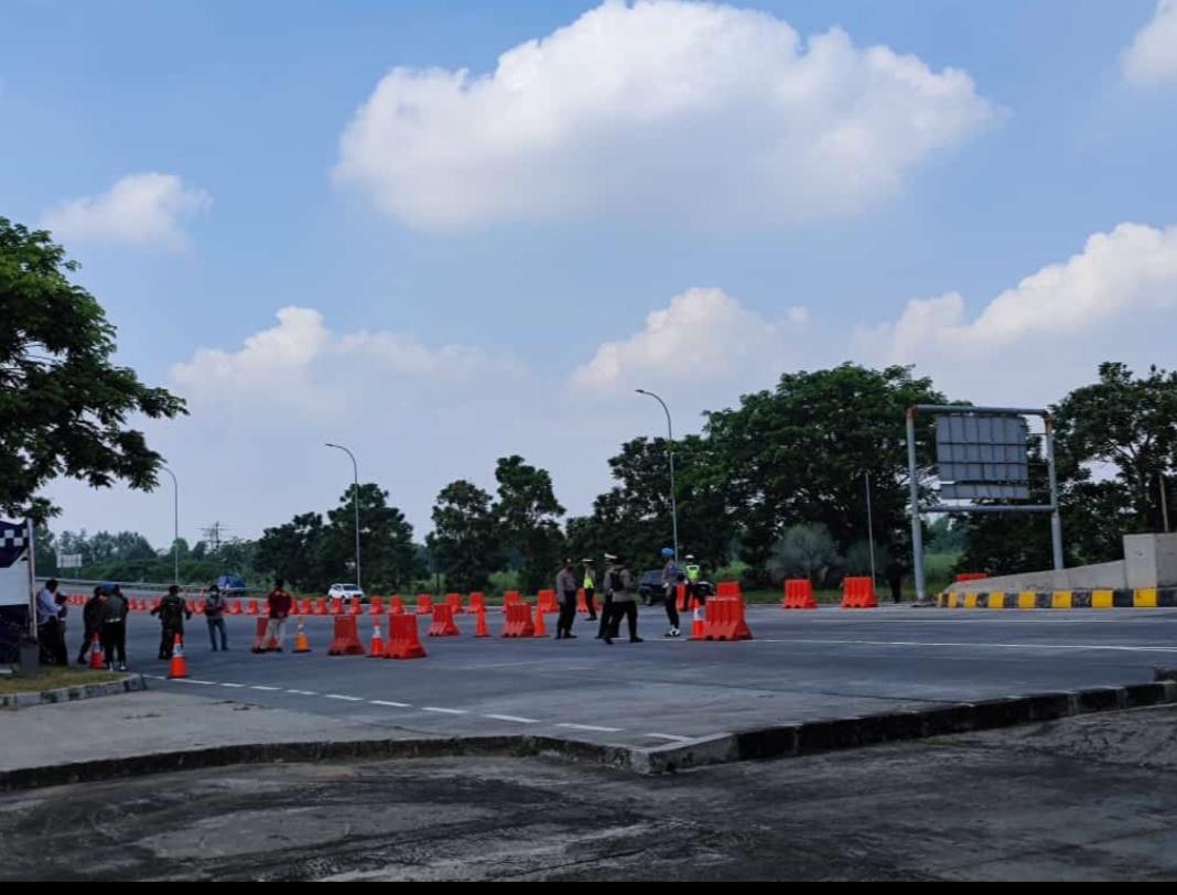 Selama PPKM Darurat di Exit Tol di Jawa Timur, Ini Titik Penyekatanya