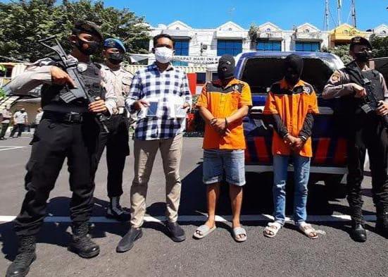 Bikin Ricuh Saat Penertiban PPKM di Surabaya, Dua Orang Diringkus Polisi