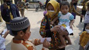 Walikota Mojokerto Sisihkan Gajinya Untuk Reward Warga Yang Taat Prokes