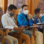 Gerakan Persatuan PMII Mojokerto Dan PKL Benteng Luluhkan Pemerintah Soal Kebijakan PPKM