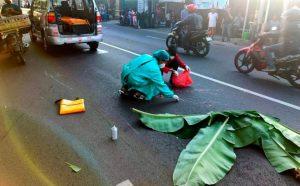 Alami Kecelakaan, Ibu Ibu Di Dlanggu Tewas Terbentur Aspal