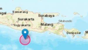Gempa M 5,2 Guncang Pacitan Tadi Malam