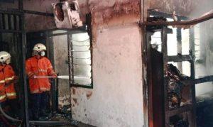 Kebakaran di Komplek Perumahan Dosen ITS Surabaya Tewaskan Bocah 6 Tahun