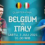 Prediksi Skor Laga Belgia Vs Italia Perempatfinal Euro 2020
