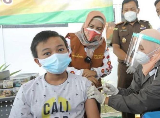 Vaksinasi Kota Mojokerto Capai 86.50 Persen