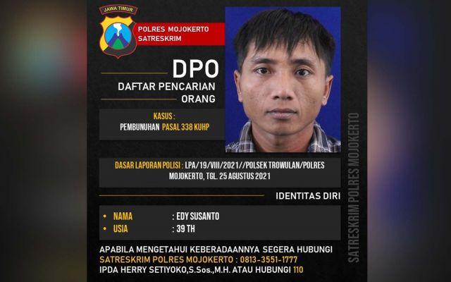 Ini Wajah Pelaku Penusukan Pria Asal Jombang Yang Tewas Di Trowulan