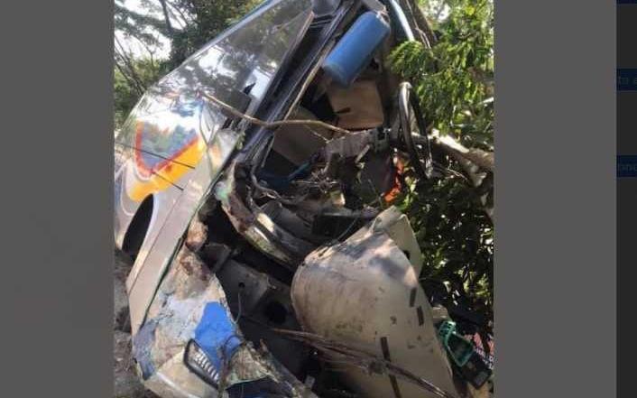 Kecelakaak Beruntun Bus Sugeng Rahayu Di Saradan Satu Pemotor Tewas