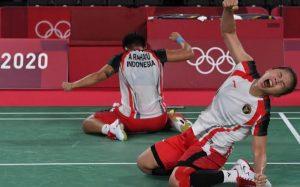Ajang Olimpiade Tokyo 2020, Greysia Polii/Apriyani Rahayu Raih Persembahkan Medali Emas Pertama Untuk Indoneseia