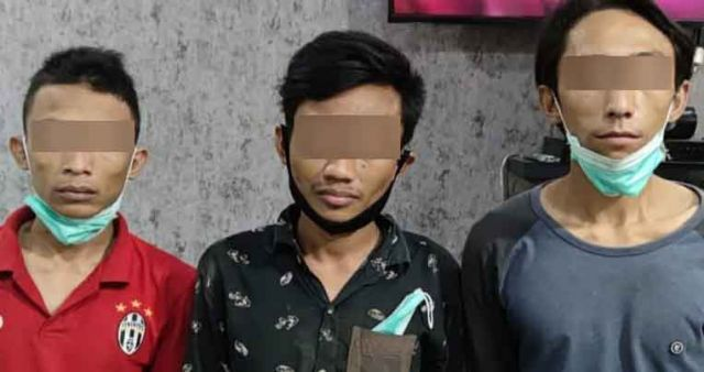 Bobol Gudang Truk di Jalan Kalianak Surabaya, Tiga Pemuda Diamankan