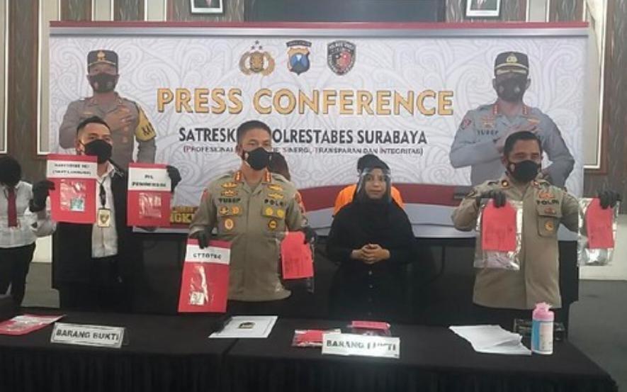 Aborsi di Hotel di Surabaya