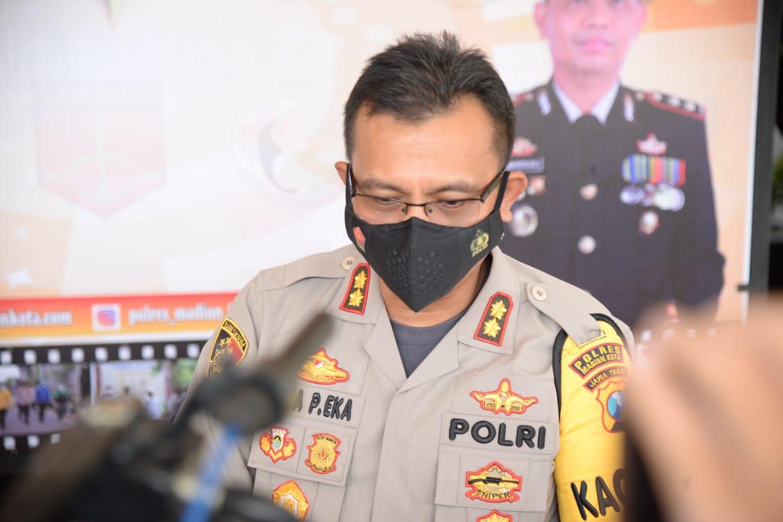 Polres Kota Madiun Berhasil Menangkap 15 orang Tersangka Pengedar Narkoba