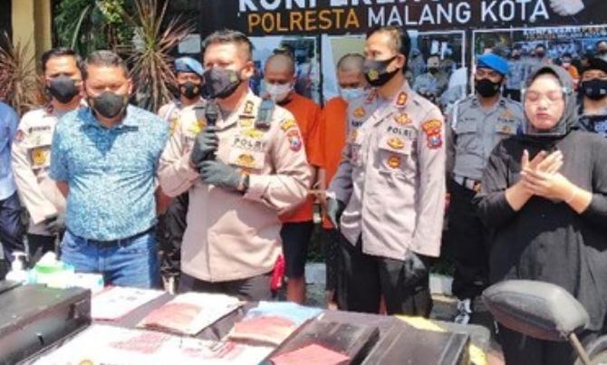 Nekat Bobol Mesin ATM Petugas Pengisian Mesin ATM Diringkus Polisi