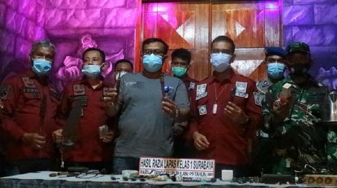 Kanwil Kemenkumham Jatim, Lapas Surabaya, Kompor dan Instalasi Listrik Liar