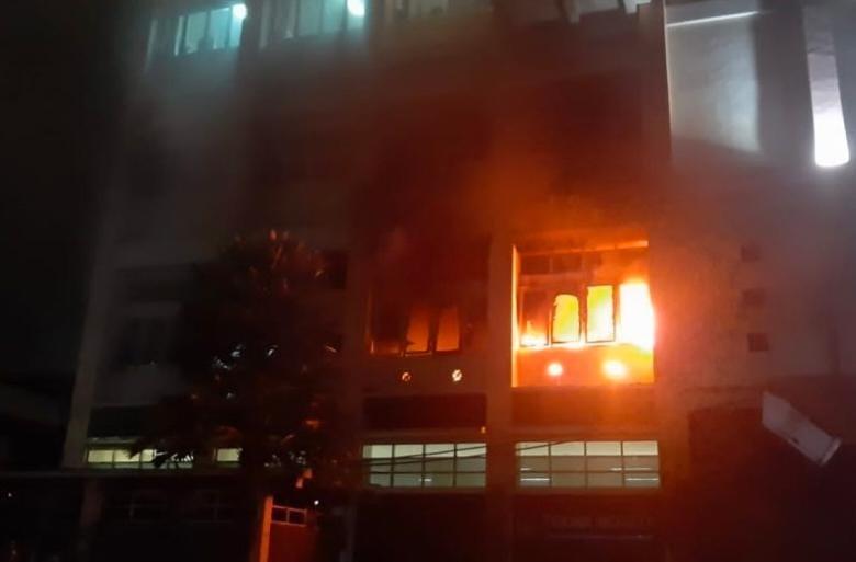 Gedung UB Malang Terbakar, Kebakaran malang, Malang