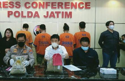 Kasus Narkoba Internasional, Surabaya