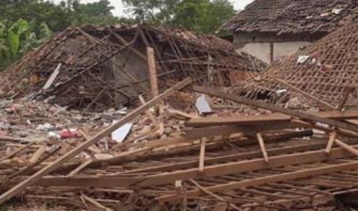 Ledakan Bondet di Pasuruan Bikin 2 Rumah Hancur