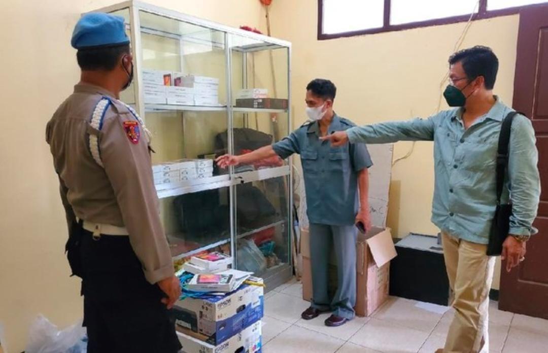 Kasus Pencurian 149 Unit Tablet