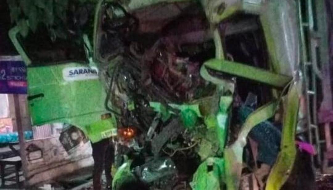 Kecelakaan Bypass Mojokerto, sopir luka parah