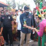 Peresmian ADWI 2021 Oleh Menparekraf Sandiaga Uno Di Mojokerto Diwarnai Kerumunan