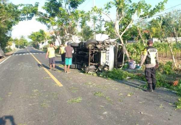 Kecelakaan Bus Mini, Sumenep, Kronologi kecelakaan