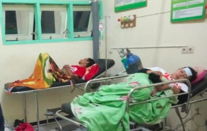 Siswa SMK Di Tulungagung, keracunan