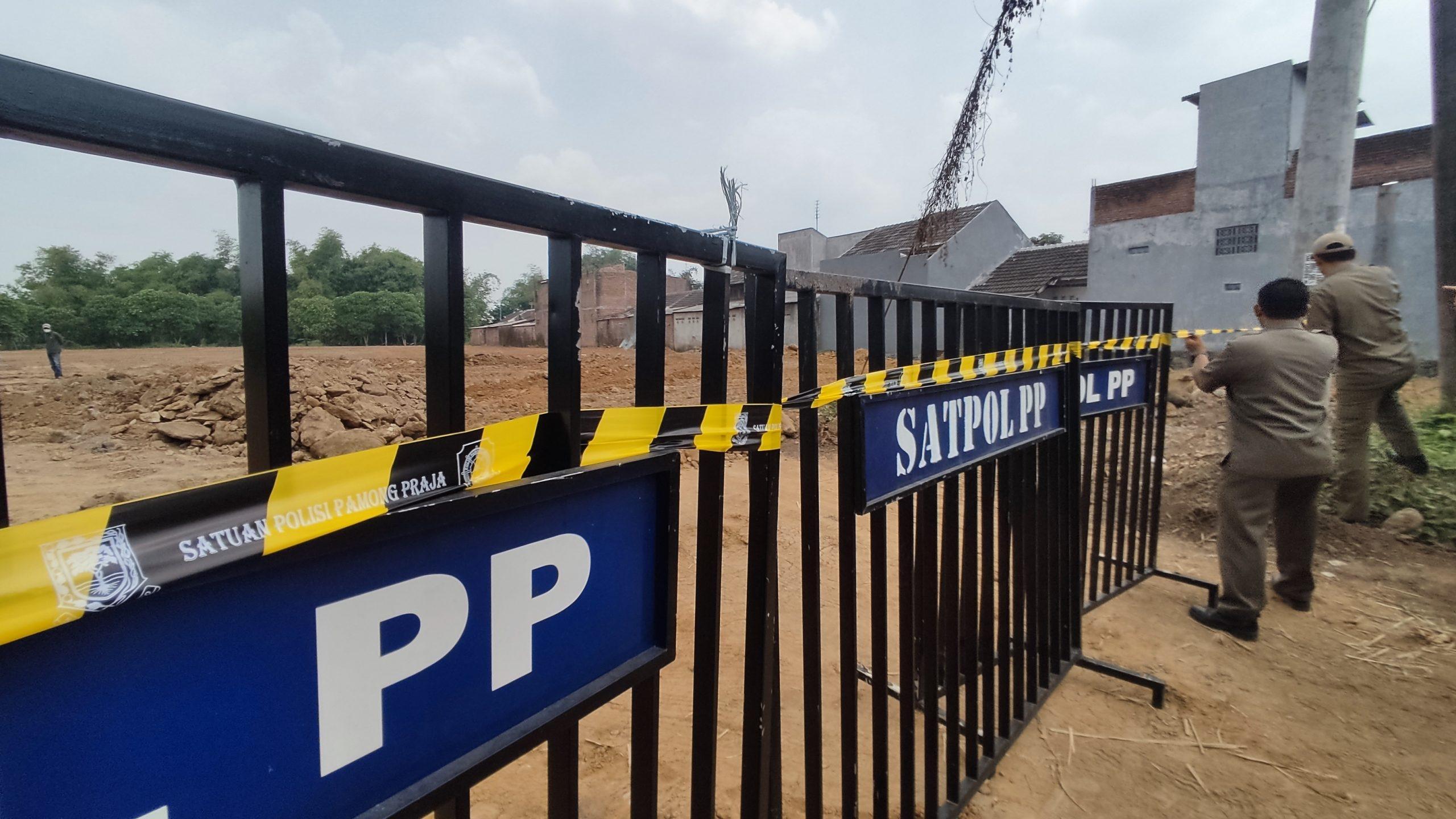 Pembangunan Perumahan, Suromurukan Kota Mojokerto, Satpol PP Kota Mojokerto