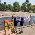 Proyek Taman Alun Alun Mojokerto Terseok Seok, Buat HMI Desak Penegak Hukum Turun Tangan