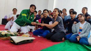Juarai PON XX Papua, Dua Atlet Judo Disambut Gembira Warga Kota Mojokerto