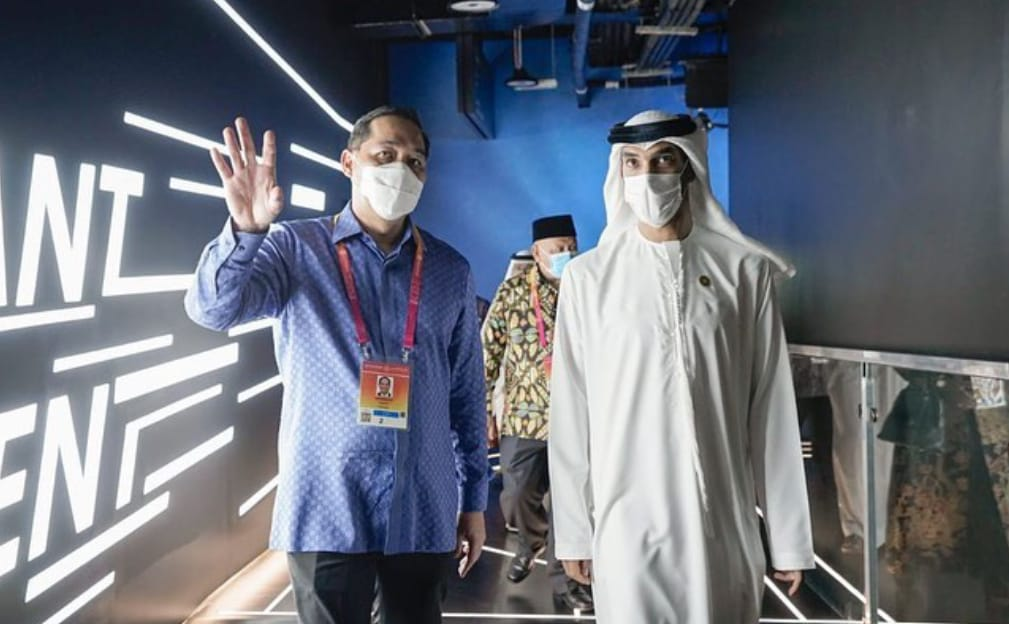 Muhammad Lutfi, Menteri Perdagangan, Paviliun Indonesia, Expo 2020 Dubai