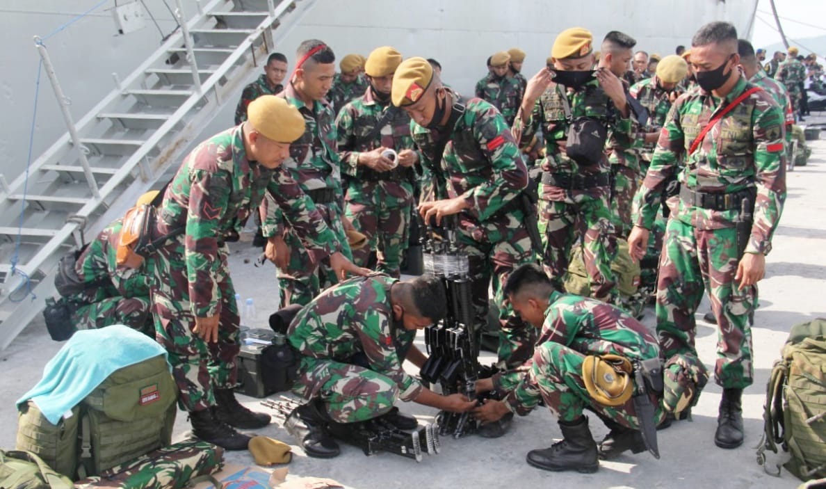Korem Gandeng BKSDA , Ternate